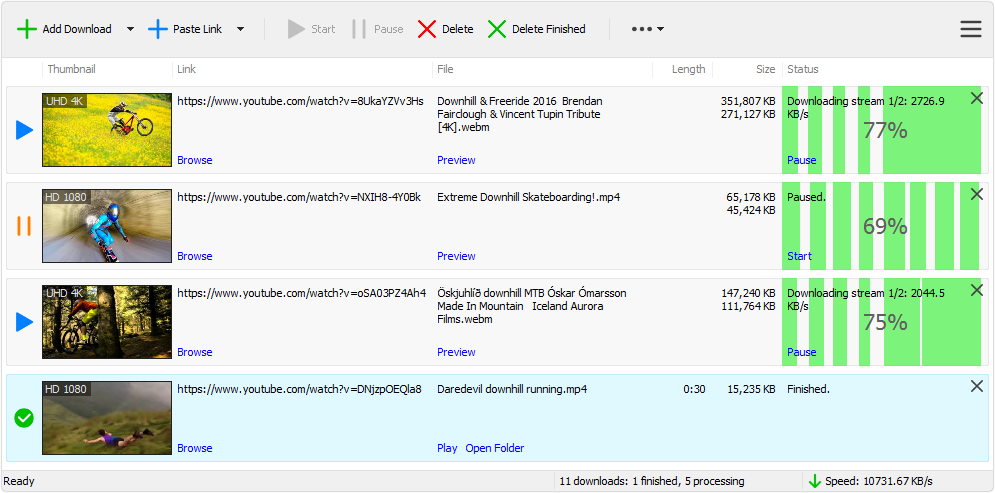 Stream Downloader